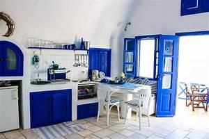Appealing Greek Kitchen Design Images - Exterior ideas 3D