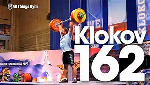 Dmitry Klokov 162kg Power Clean   Strict Press