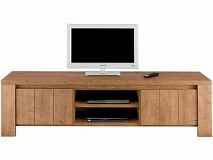 Tele 180 Cm : meuble tv 180 cm finition m lamin brest coloris ch ne vente de meuble tv conforama ~ Teatrodelosmanantiales.com Idées de Décoration