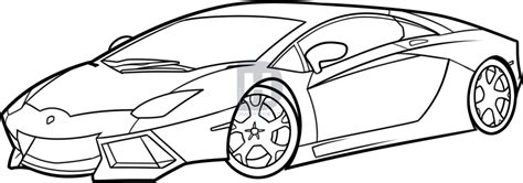 How To Draw A Lamborghini Aventador, Lamborghini Aventador