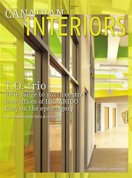 Interior Decorating Magazines Canada by Top 5 Interior Design Magazines From Canada Interior