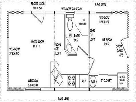 small guest house floor plans small guest house designs 16x22 small guest house plans