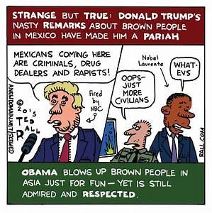 The Donald Trump Paradox: Ted Rall Cartoon