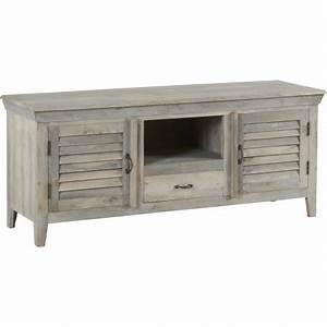 Meuble Tv Manguier : meuble tv martigues hanjel en manguier trendy homes ~ Teatrodelosmanantiales.com Idées de Décoration