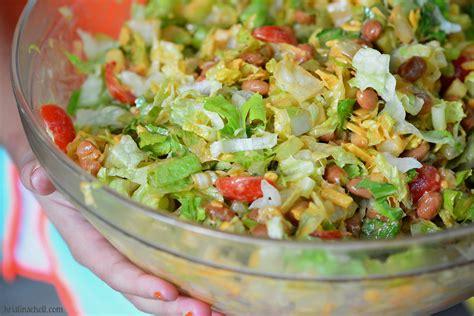 potluck fiesta bean salad the turquoise table