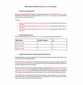 Share agreement template free sample profit sharing for Profit share agreement template