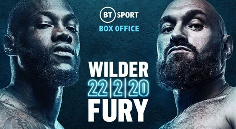 Tyson Fury vs Deontay Wilder II - Watford Boxing Coach and ...