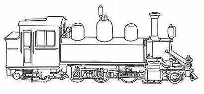 Train Coloring Steam Pages Colouring Mallard Engine