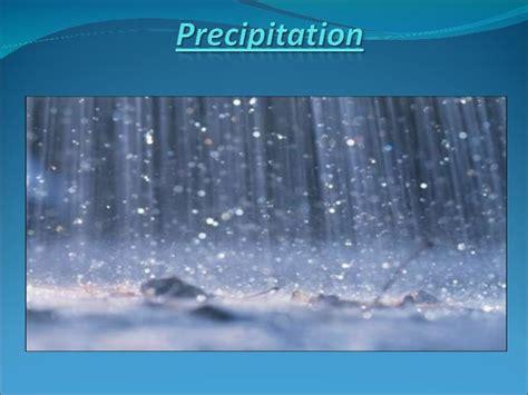 Study Notes on Precipitation