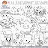 Stamp Digi Doodle sketch template
