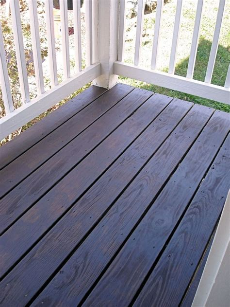 behrs cordovan brown  solid stain porch decor