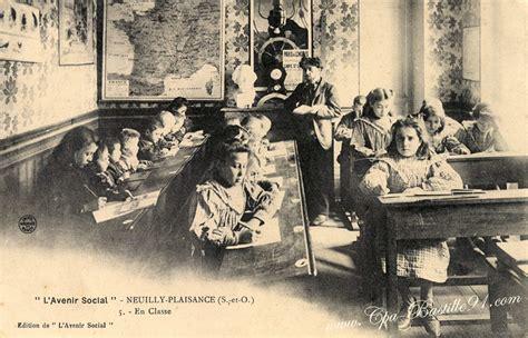 neuilly plaisance l avenir social salle de classe cartes postales anciennes