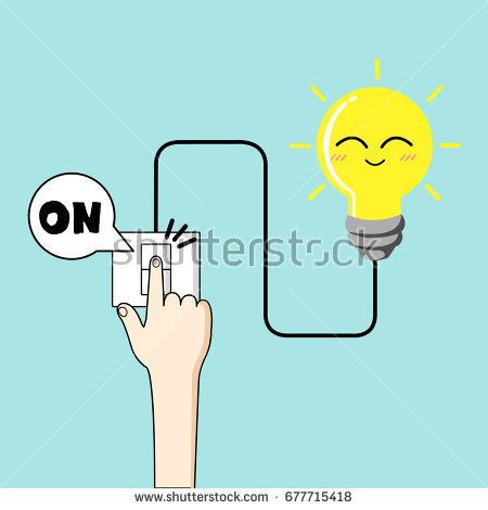 turn light on turning stock images royalty free images vectors
