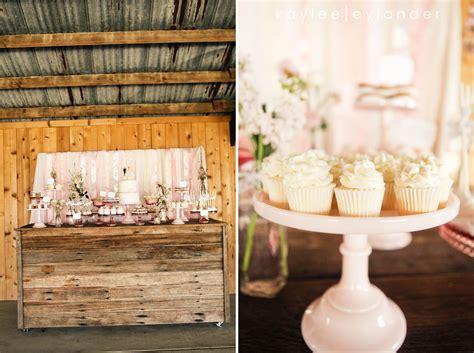 Vintage Pink Lace & Rustic Barn Wedding
