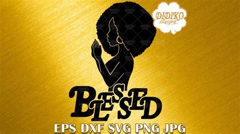 Praying African American Woman Svg – 210+ Best Free SVG File