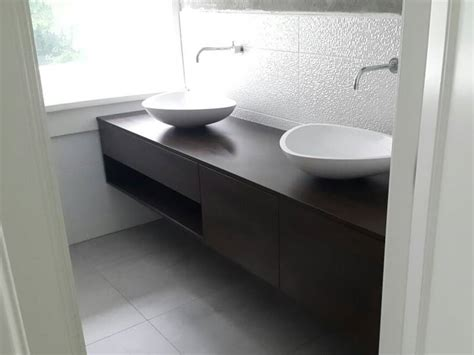 badkamermeubels rustiek badkamermeubel zwevend eiken design waskommen te boveldt