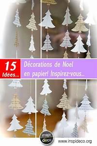 Deco Noel En Papier : d corations de noel en papier 15 id es diy pour vous inspirer ~ Melissatoandfro.com Idées de Décoration