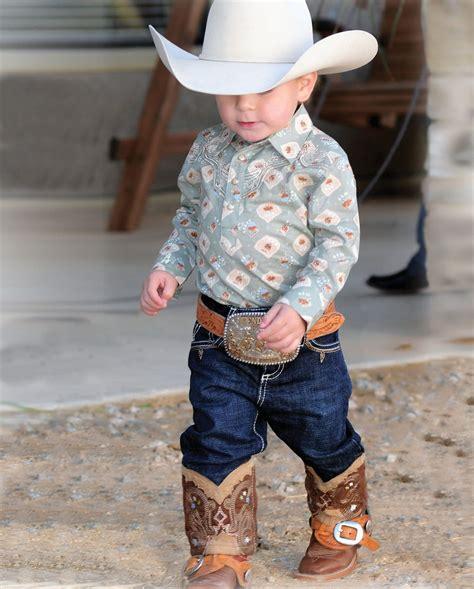 All Around Babyu2122 by Wrangleru00ae Boyu0026#39;s Boot Stitch Jeans - Infant  Fort Western Online | Madelyn ...