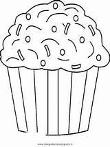 Cupcake Coloring Sprinkles Muffin Colorare Malvorlage Disegno Cupcakes Ausmalbilder Chocolate Template Printables Diverse Disegni Malvorlagen Immagini Gratis Ausmalen Netart Birthday sketch template