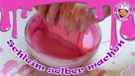 selber schleim machen schleim selber machen diy slime mit st 228 rke wasser