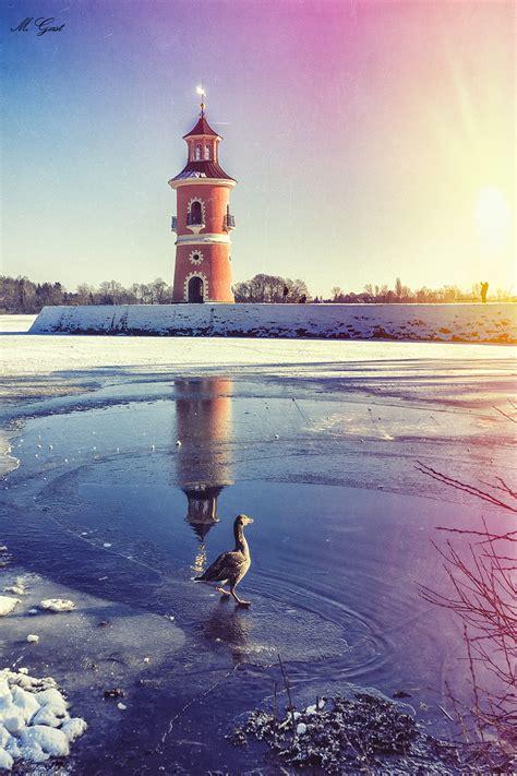 moritzburg im winter vom schloss bis zum leuchtturm und
