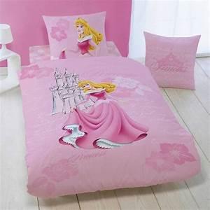 Housse De Couette Petite Fille : disney princesse housse de couette parure de lit enfant ~ Melissatoandfro.com Idées de Décoration