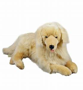 "Golden Retriever Large Stuffed Soft Plush TOY 25"" 62cm 