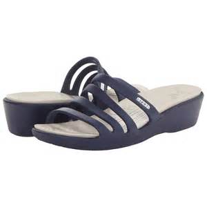 Crocs Wedge Sandals Shoes Women