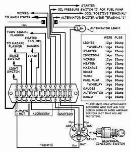 1968 Camaro Instrument Cluster Wiring