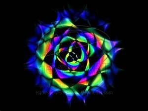 Neon Rose by arcane-depiction on DeviantArt