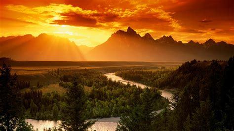 Mountain Scenery Wallpaper Wallpapersafari