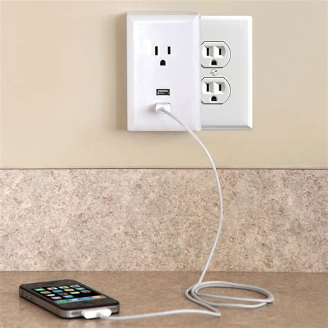 Plug In Usb Wall Outlets The Green Head