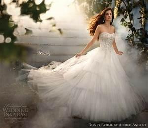 Disney fairy tale weddings by alfred angelo 2012 for Cinderella wedding dress alfred angelo