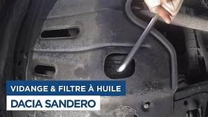 Vidange Clio 3 Essence : vidange et changement du filtre huile sur dacia sandero youtube ~ Medecine-chirurgie-esthetiques.com Avis de Voitures