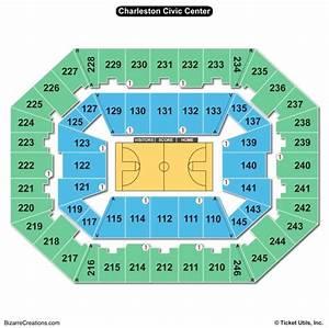 Charleston Civic Center Seating Chart Seating Charts