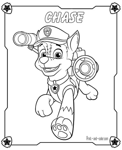25 best paw patrol images on Pinterest Coloring pages
