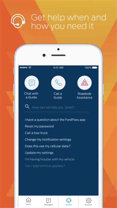 how to sync iphone to car fordpass find parking dealers ford guides more on the