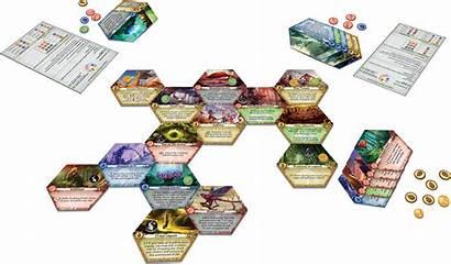 Lagoon Land Layout 3d Druids Board Games