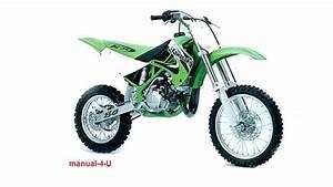 Kawasaki Kx60 Kx80 Kdx80 Kx100 Service Manual 1989