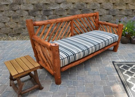 rustic outdoor furniture handmade by appalachian designs
