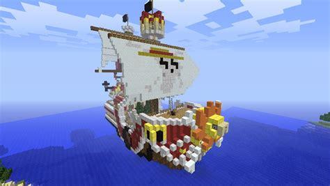 minecraft big builds thousand sunny  piece minecraft
