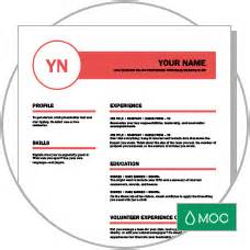 creative resume designed by moo land your