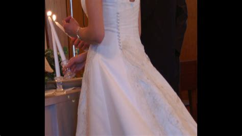 avoid wedding gown alterations rip off simple diy bustle
