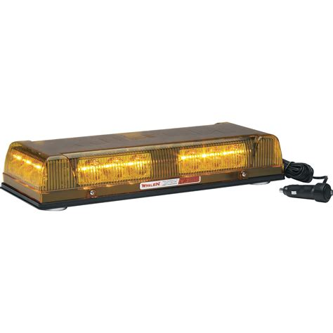 small led light bar whelen engineering responder lp mini lightbar magnetic
