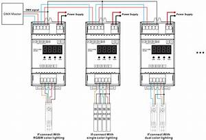 Constant Voltage Din Rail Mounted 4 Channels Dmx  U0026 Rdm Led
