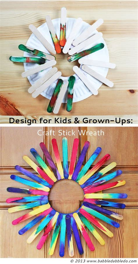 craft project ideas 26 best images about wood sticks crafts on