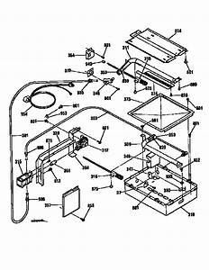 Burner Section Diagram  U0026 Parts List For Model 91130469690