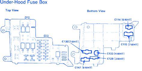Honda Accord Fuse Box Block Circuit Breaker