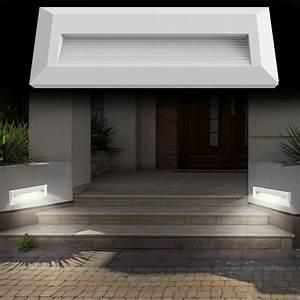 Led Beleuchtung Haus : led au en leuchte haus wand treppen stufen beleuchtung terrassen lampe garten ebay ~ Markanthonyermac.com Haus und Dekorationen