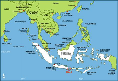 bali  world map     flee volcano